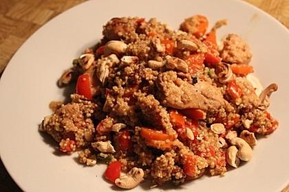 Quinoa - Hähnchen - Pfanne 23