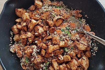 Quinoa - Hähnchen - Pfanne 4
