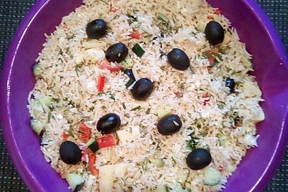 Griechischer Reissalat 2