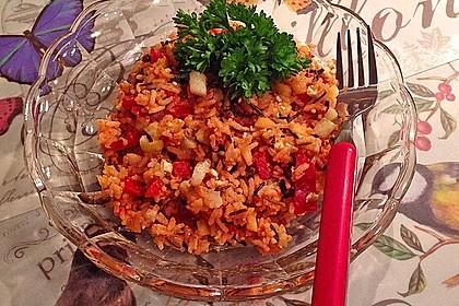 Griechischer Reissalat