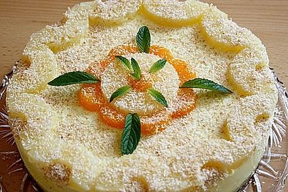 Ananas - Kokos - Torte (Bild)