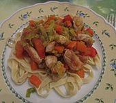 Chinesische Gemüse - Puten - Pfanne (Bild)