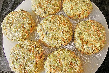 Gemüsefrikadellen mit Kräuterquark 8