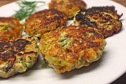 Gemüsefrikadellen mit Kräuterquark 2