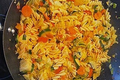Bunte Gemüse-Nudel-Pfanne 3