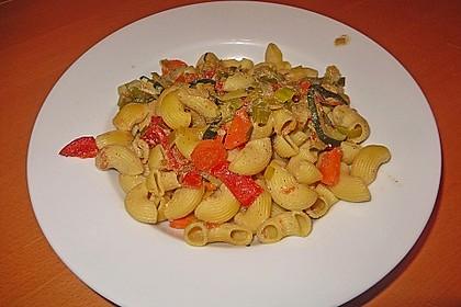 Bunte Gemüse-Nudel-Pfanne 5