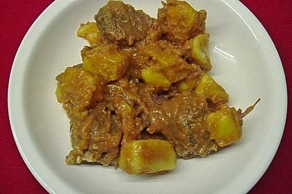Kartoffeleintopf mit Fleisch 5