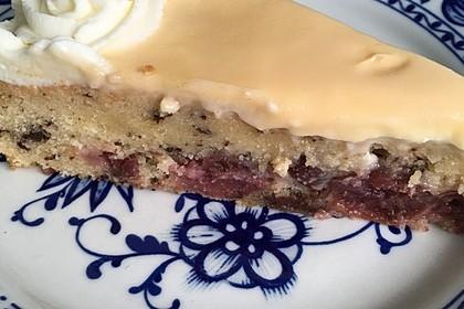 Kirsch - Eierlikör - Blechkuchen mit Schmand - Sahne 40
