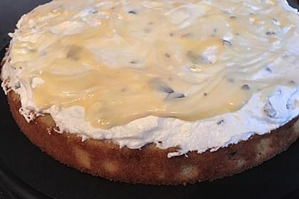 Kirsch - Eierlikör - Blechkuchen mit Schmand - Sahne 45