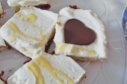 Kirsch - Eierlikör - Blechkuchen mit Schmand - Sahne 92