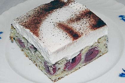 Kirsch - Eierlikör - Blechkuchen mit Schmand - Sahne 20