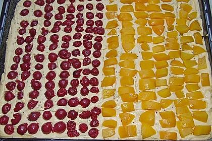 Kirsch - Eierlikör - Blechkuchen mit Schmand - Sahne 71