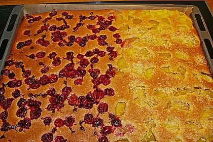 Kirsch - Eierlikör - Blechkuchen mit Schmand - Sahne 88