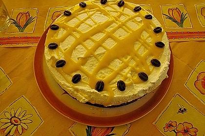 Kirsch - Eierlikör - Blechkuchen mit Schmand - Sahne 49