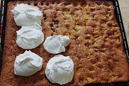 Kirsch - Eierlikör - Blechkuchen mit Schmand - Sahne 41
