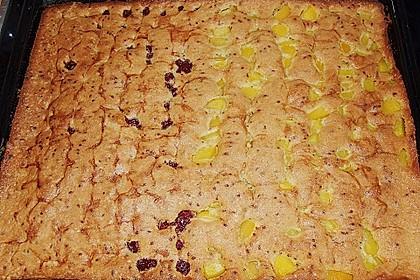 Kirsch - Eierlikör - Blechkuchen mit Schmand - Sahne 77
