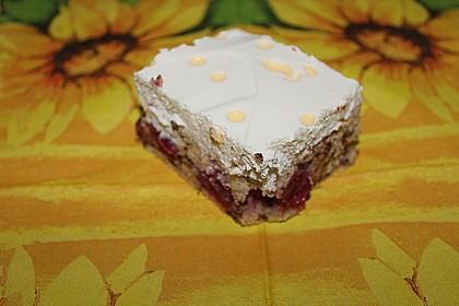 Kirsch - Eierlikör - Blechkuchen mit Schmand - Sahne 65