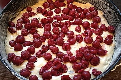 Kirsch - Eierlikör - Blechkuchen mit Schmand - Sahne 66