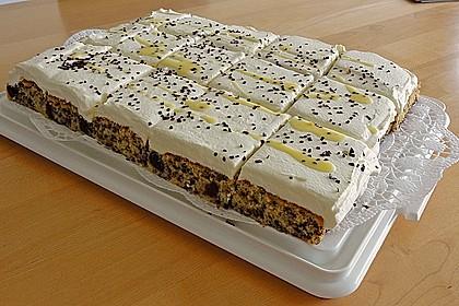 Kirsch - Eierlikör - Blechkuchen mit Schmand - Sahne 10