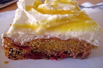 Kirsch - Eierlikör - Blechkuchen mit Schmand - Sahne 22