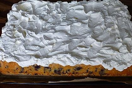 Kirsch - Eierlikör - Blechkuchen mit Schmand - Sahne 17