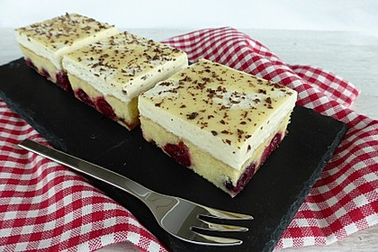 Kirsch - Eierlikör - Blechkuchen mit Schmand - Sahne 7