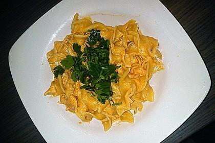 Pasta mit Knoblauch - Tomaten - Shrimps 15