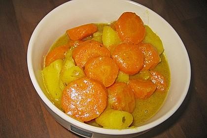 Möhren-Kartoffel-Kokos-Curry 11