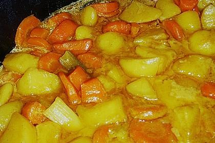 Möhren-Kartoffel-Kokos-Curry 12
