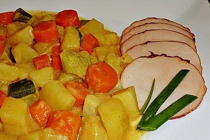 Möhren-Kartoffel-Kokos-Curry 14