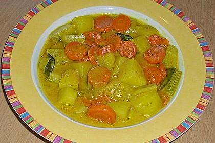 Möhren-Kartoffel-Kokos-Curry 9
