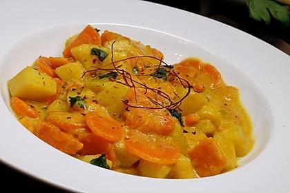 Möhren-Kartoffel-Kokos-Curry 1