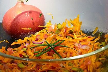 Kürbis - Salat (Bild)
