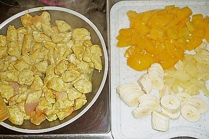 Fruchtiges Hähnchencurry 7
