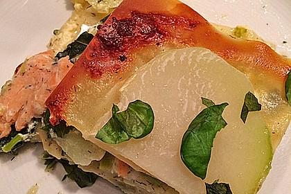 Lasagne mit Lachs 1