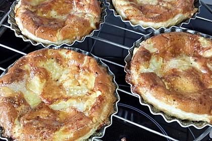 Quiches mit Camembert und Feigensenf (Bild)
