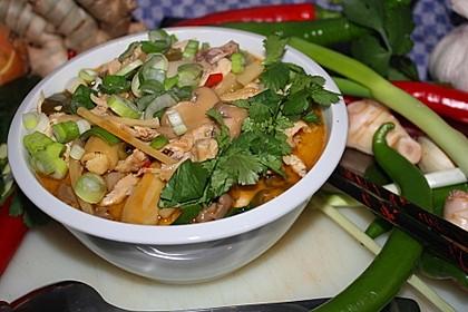 Tom Kha Gai - die berühmte Hühnersuppe mit Kokosmilch und Galgant 31