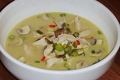 Tom Kha Gai - die berühmte Hühnersuppe mit Kokosmilch und Galgant 17