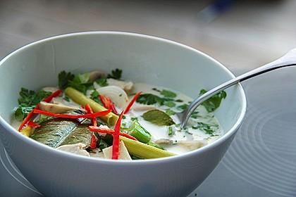 Tom Kha Gai - die berühmte Hühnersuppe mit Kokosmilch und Galgant 1