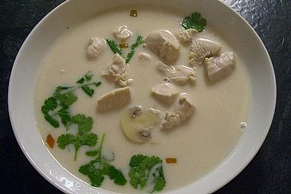 Tom Kha Gai - die berühmte Hühnersuppe mit Kokosmilch und Galgant 39