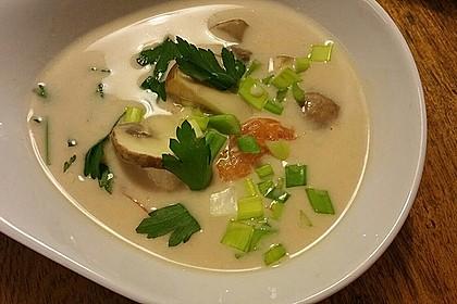 Tom Kha Gai - die berühmte Hühnersuppe mit Kokosmilch und Galgant 13