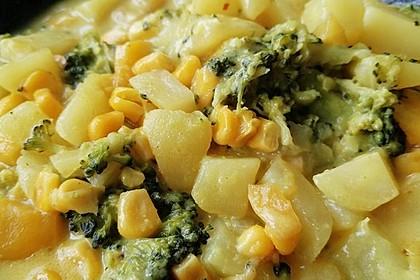 Kartoffel-Brokkoli-Curry mit Kokosmilch 23