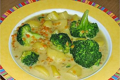 Kartoffel-Brokkoli-Curry mit Kokosmilch 14