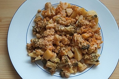 Kartoffel-Brokkoli-Curry mit Kokosmilch 50
