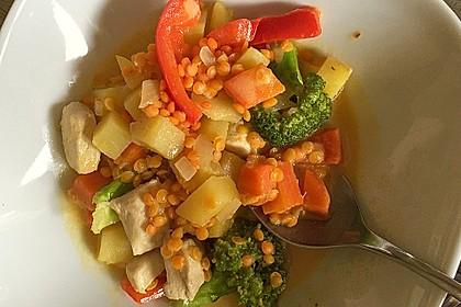 Kartoffel-Brokkoli-Curry mit Kokosmilch 13