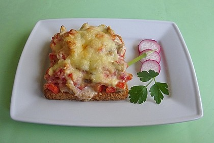 Knuspriges Pizza - Weißbrot (Bild)