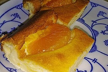 Leichter Käsekuchen mit wenig Zutaten und ohne Boden 4