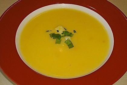 Zucchini - Kartoffel - Knoblauchsuppe 5