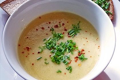 Zucchini - Kartoffel - Knoblauchsuppe
