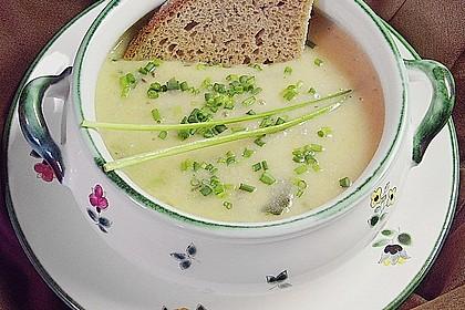 Zucchini - Kartoffel - Knoblauchsuppe 1
